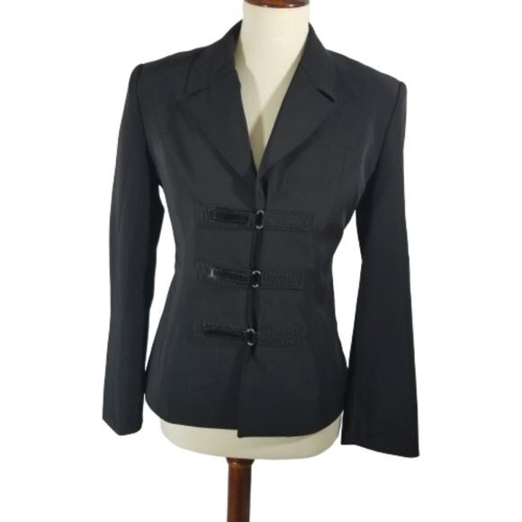 Vertigo Paris Jackets & Blazers - Vertigo Paris Black military style blazer sz M